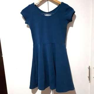 Dark Blue Casuall Dress Kids