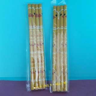 🍮🐨黃色小鴨鉛筆(4支1組)