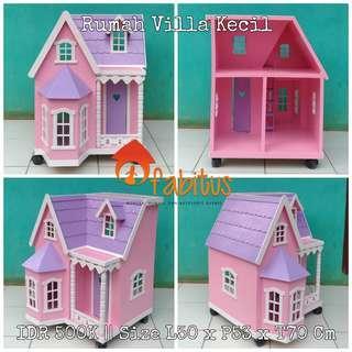 Rumah Boneka Barbie Villa Kecil