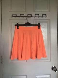 H&M Neon Skater Skirt