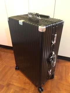 純金屬旅行箱 全鋁鎂合金高檔商務登機箱 男女萬向輪全鋁拉桿箱 多色選擇