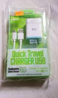Bavin Quick Travel USB Charger (Type C)