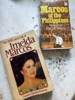 Marcos of the Philippines and The rise and fall of imelda marcos books