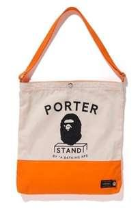 Bape x Porter Stand Tote Bag (Limited Edition)