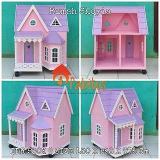 Rumah Boneka Barbie Shopia