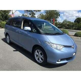 Toyota Estima leasing on promotion