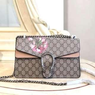 895065720a2f Gucci Dionysus Medium GG Blooms Shoulder Bag