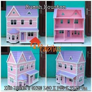 Rumah Boneka Barbie Houston