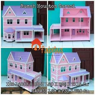 Rumah Boneka Barbie Houston Garasi