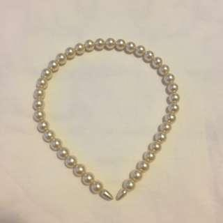 Forever 21 Pearl hairband 珍珠頭箍