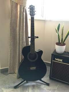 Hofma Semi Acoustic Guitar