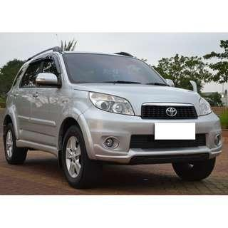 Toyota Rush G Automatic 2015 Total DP 7 Jt
