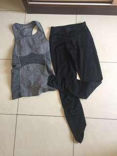 Gym clothes/baju senam
