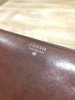 Fossil brown wallet