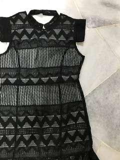 FREE POSTAGE Korea Style Lace Dress Doublewoot Mango Love Bonito