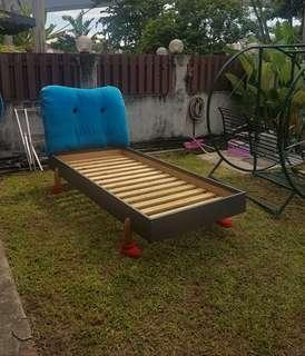 Katil single cute IKEA size katil bujang siap hantar