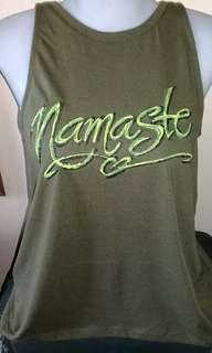 Namaste Handpainted Top shirt  Small