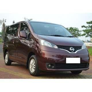 Nissan Evalia XV MT 2013 Istimewa Total DP 7 JT