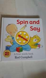 Spin and say by rod campbell
