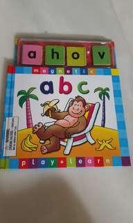 Magnetic abc book