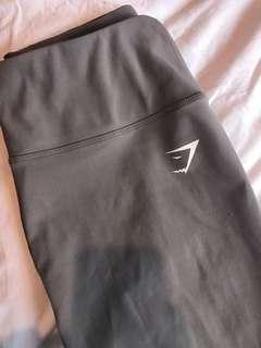 Grey gymshark 3/4 leggings