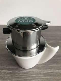 Vietnamese style coffee drip pot / filter