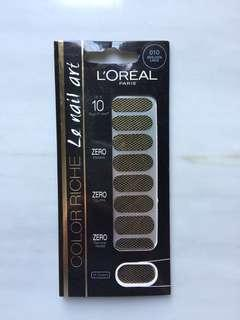(NEW) L'oreal nail sticker made in Korea