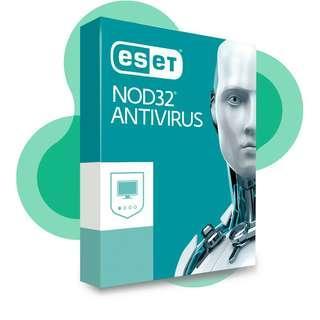 最新 防毒 快速 NOD32 Eset 正版 Windows 10 8 7 compactible 通用.   Protect your device save your time and troubles , 保護好電腦好過哂錢哂重裝    $ 45 NOD32 Antivirus(1部設備,1年使用許可) 1 device 1 year    $100 NOD32 Antivirus(1部設備,2.5年使用許可  1 device 2.5 years)