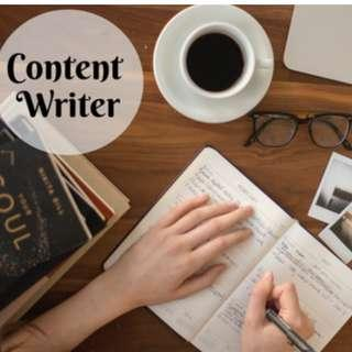 Freelance Writers/ Assignment Writers/ Proofreading