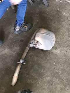 Vios 2013 original exhaust (used)