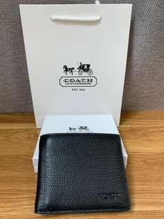 COACH men single wallet