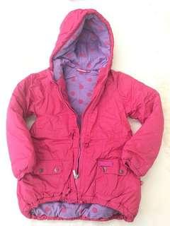 Barbie thick winter jacket 7-8yo