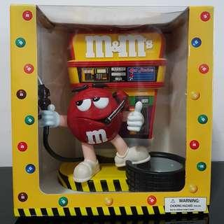 M&M's Collectible Gas Station Dispenser 2004
