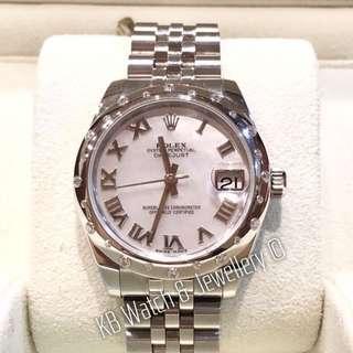 Rolex Midsize 31mm Datejust watch