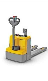 Jungheinrich Electric Pallet Truck with Weighing Scale