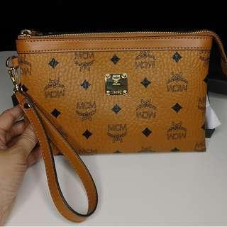 MCM Classic Signature Clutch Bag