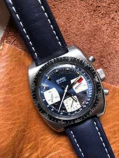 Vintage Swiss chronograph BWC valjoux 7736