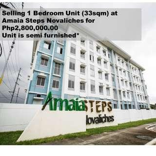 1BR Unit in Amaia Steps Novaliches