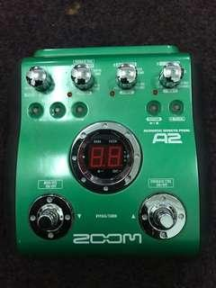 Zoom Acoustic Guitar Effects pedal