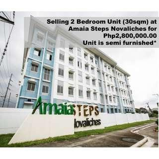 2 Bedroom Unit for sale at Amaia Steps Novaliches