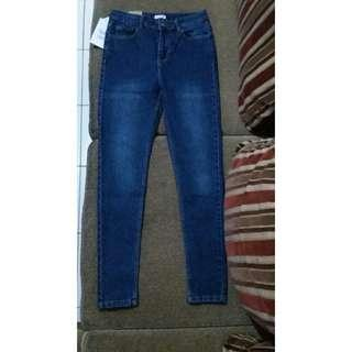 Jeans HW skinny Colorbox