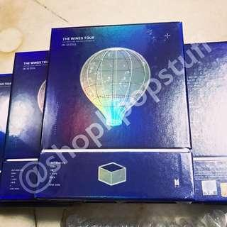 [READY STOCK] The Wings Tour BTS 2017 Live Trilogy Episode III in Seoul (DVD) Sealed + Poster + Free Gifts