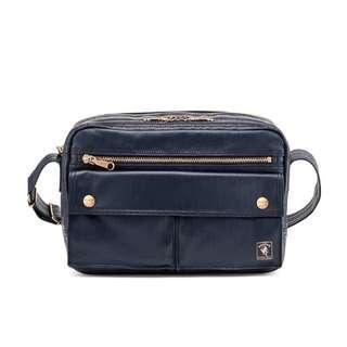 Porter International Shoulder Bag Mori II (Deep Blue)