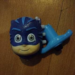 BRANDNEW CATBOY PJ MASK SPINNING TOP with LIGHT and MUSIC