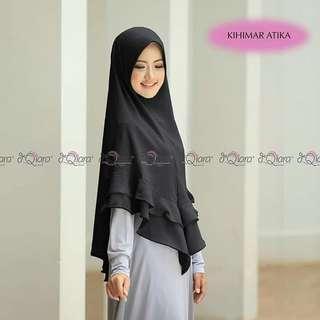 Hijab jilbab pashmina bergo kerudung scarf Khimar instan atika