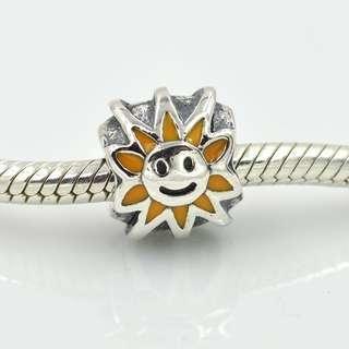 Authentic Pandora Sunflower Charm