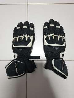 Komine Racing Leather Gloves