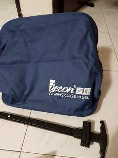Trolley bag with rollers