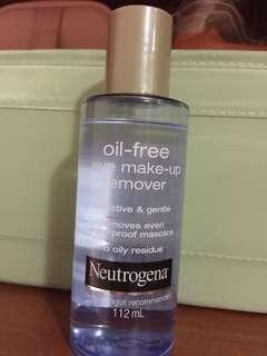 Netrogena oil-free eye lip remover