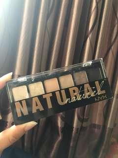 NYX Natural Eyeshadow